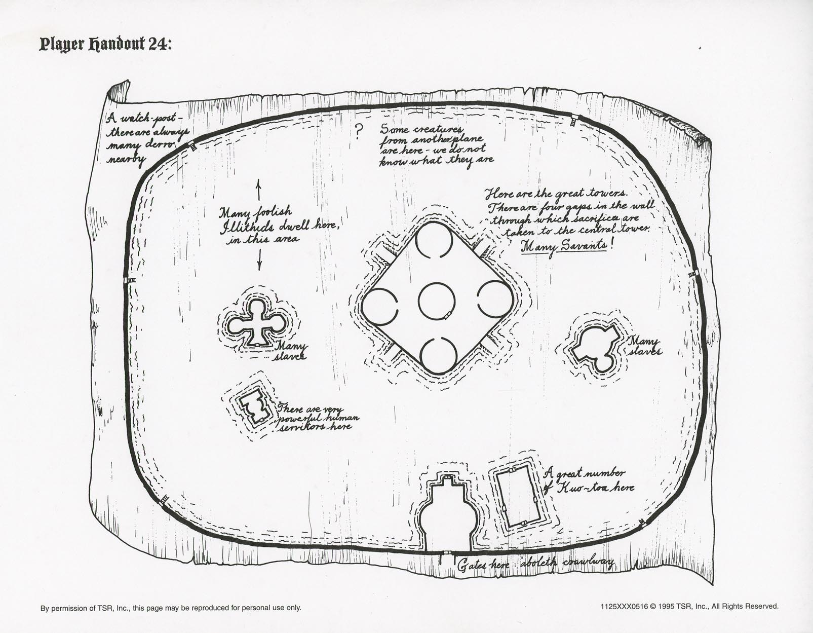 Advanced Dungeons & Dragons Archive