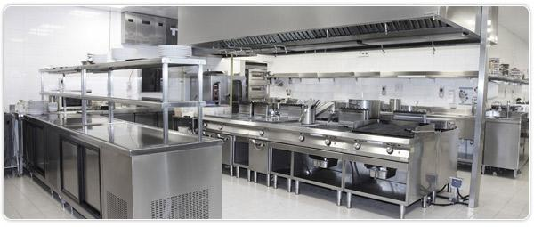 stainless kitchen steel island equipment