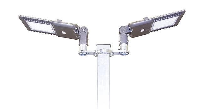 LED PARKING LOT LIGHT 300WATT TO REPLACE 1000W METAL