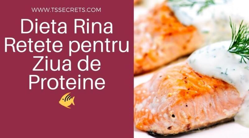 Dieta Rina Retete proteine