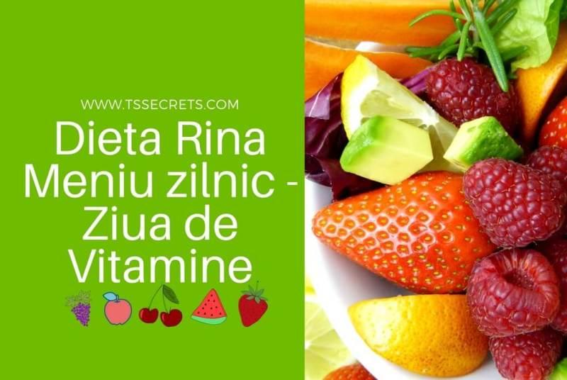 Dieta Rina - 90 de zile | Meniul pe pe zile | Alimente permise | Reguli |