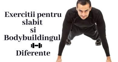 exercitii pentru slabit si bodybuilding