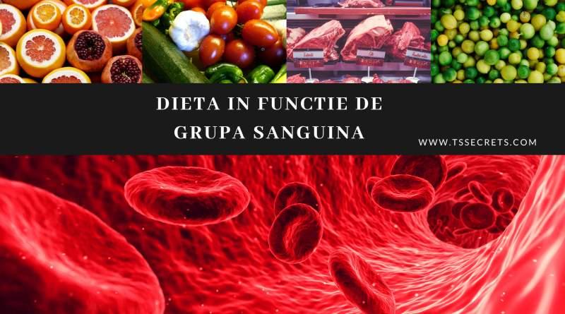 Dieta in functie de grupa sanguina