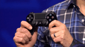 Note the concave thumbsticks.