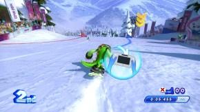 Vector doing a Slalom