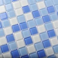 TST Crystal Glass Tiles Blue Glass Mosaic Tile Sea Glass ...