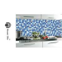 TST Glass Conch Tiles TST Sea Blue Glass Wall Tile Ocean ...