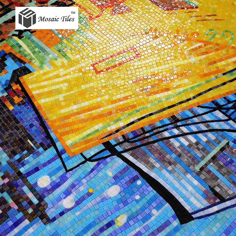 TST Mosaic Murals Deco Wall Customized Art Mosaic Van Gogh