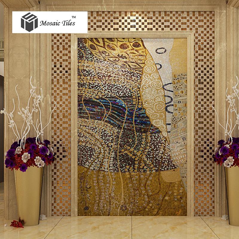 TST Mosaic Murals Parquet Art Mosaic Abstract Painting
