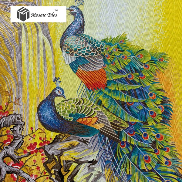 Decorative Mosaic Tile Art Mural