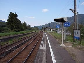 楡原駅(JR西日本・高山本線)