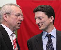 Präsident und Schatzmeister
