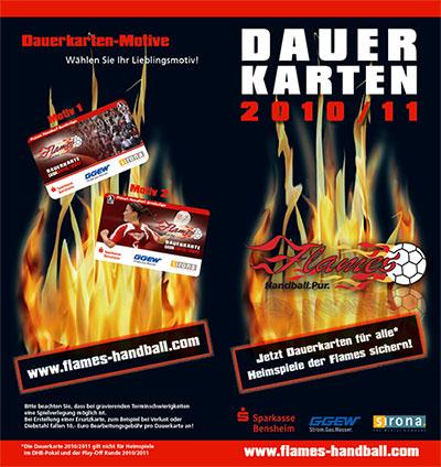 Flames Dauerkarte 2010/11