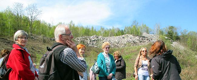 Die Gruppe 60plus besuchte UNESCO Welterbe Grube Messel bei Darmstadt