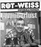 Herbert Klawitter – auf der Titelseite der RWI im Dezember 2001 (Foto: Lutz Igiel)