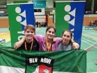 Fünf Medaillen bei der Deutschen Meisterschaft — Selin dreifache Meisterin