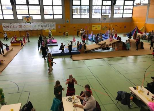 Faschings-Turn-Spass für Kinder beim TSV