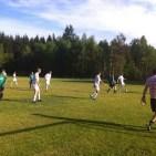 Fußballspiel der 1. und 2. Mannschaft