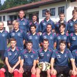1. Fußball Mannschaft des TSV Spiegelau