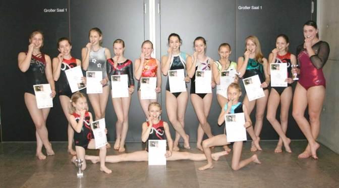 TSV Vordorf auf Bezirksebene – Turnerinnen brillieren!