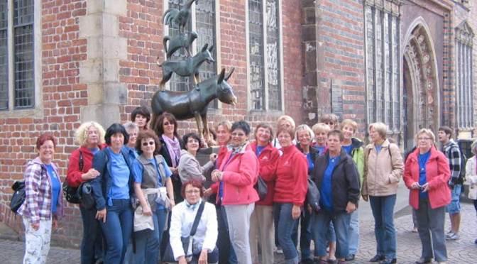 Damengymnastik: Zweitagestour nach Bremen