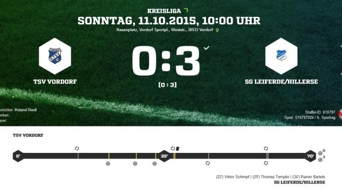 0-3 Niederlage gegen den Tabellenführer