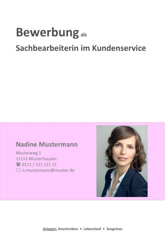Deckblatt Bewerbung Kostenlose Muster Für OpenOffice!