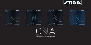 Stiga DNA rubbers
