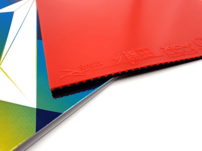 Xiom Vega X rubber pimples topsheet