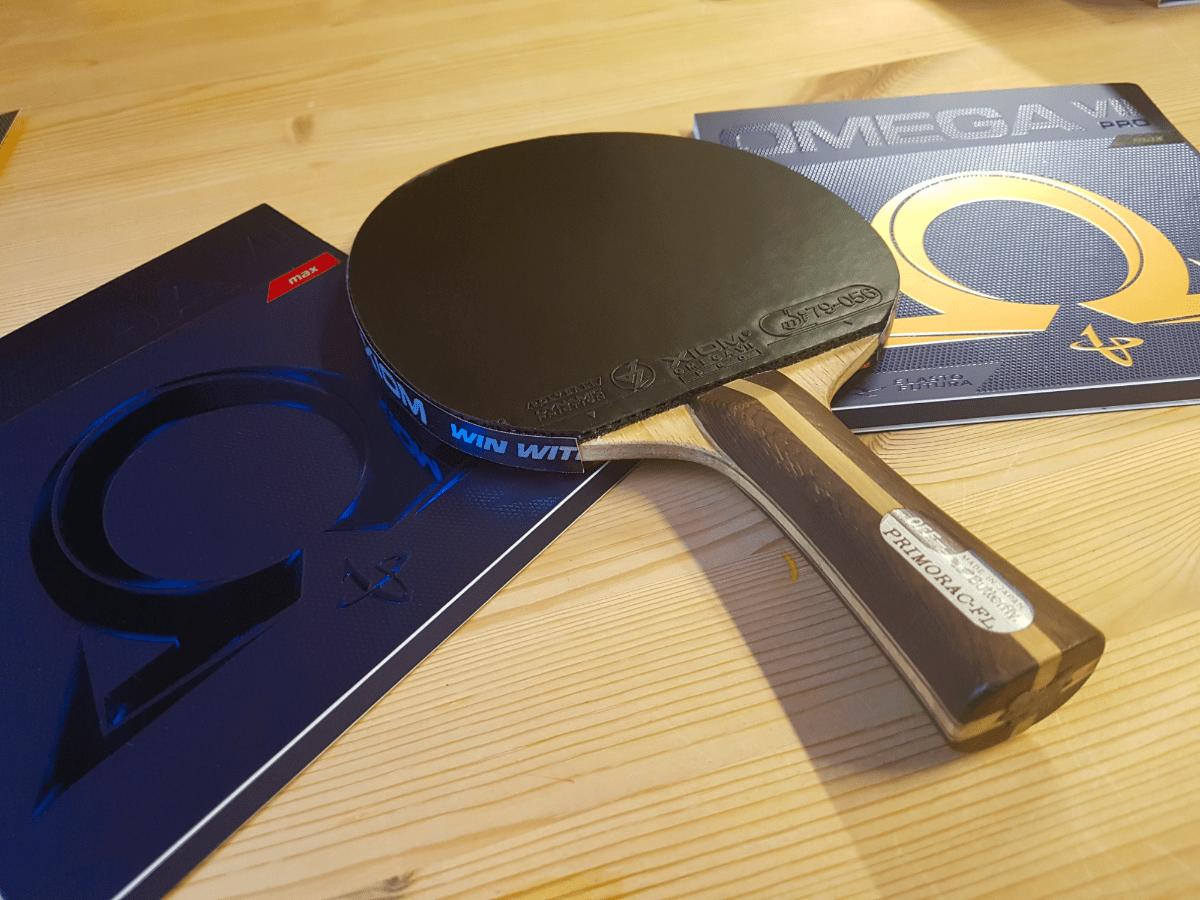 Choosing the right table tennis racket
