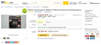 Tenergy 05 Fake für 42,67€