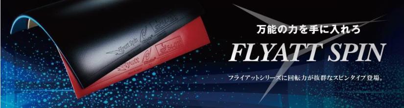 Nittaku Flyatt Spin Banner