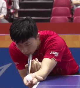 Ma Long Aufschlag Japan Open 2016
