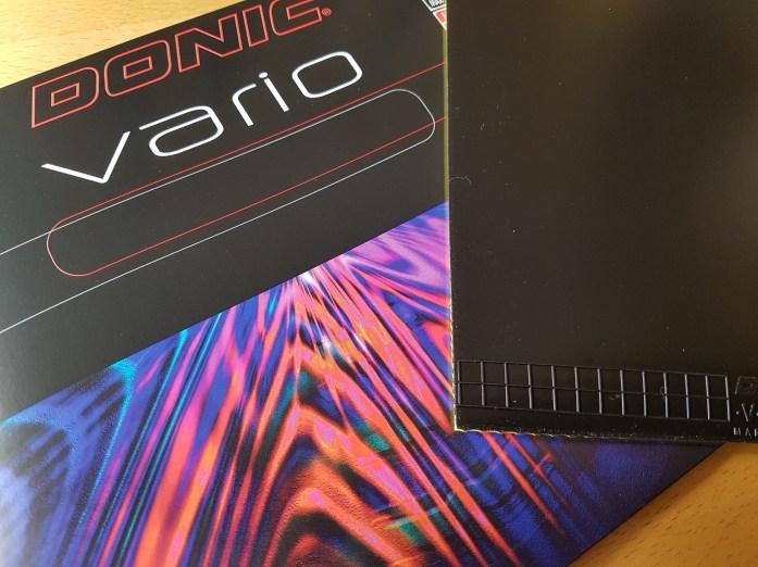 Donic Vario – Spinniger, mittelschneller Topspinklassiker