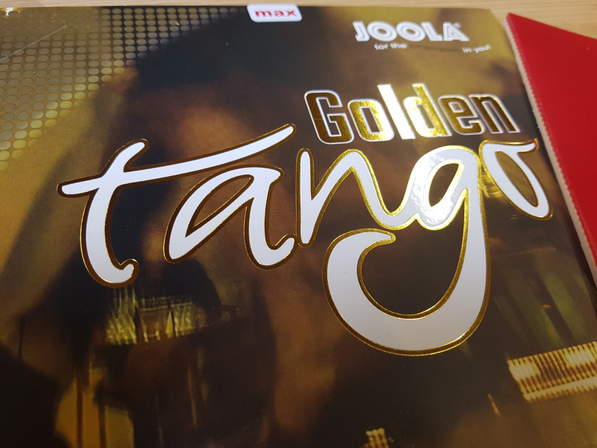 Joola Golden Tango - China-Hybridbelag Made in Germany