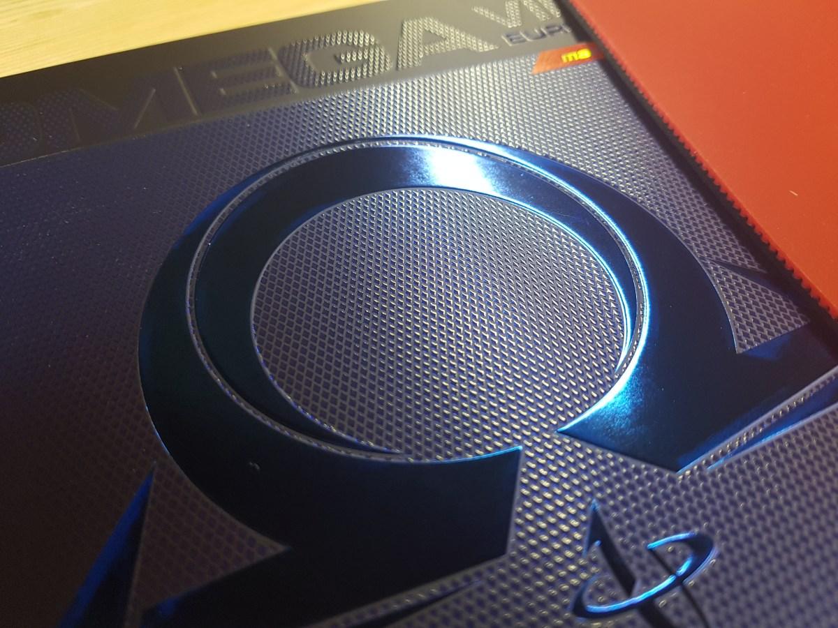 Xiom Omega VII Euro - Spinelastischer, leichter Mediumbelag