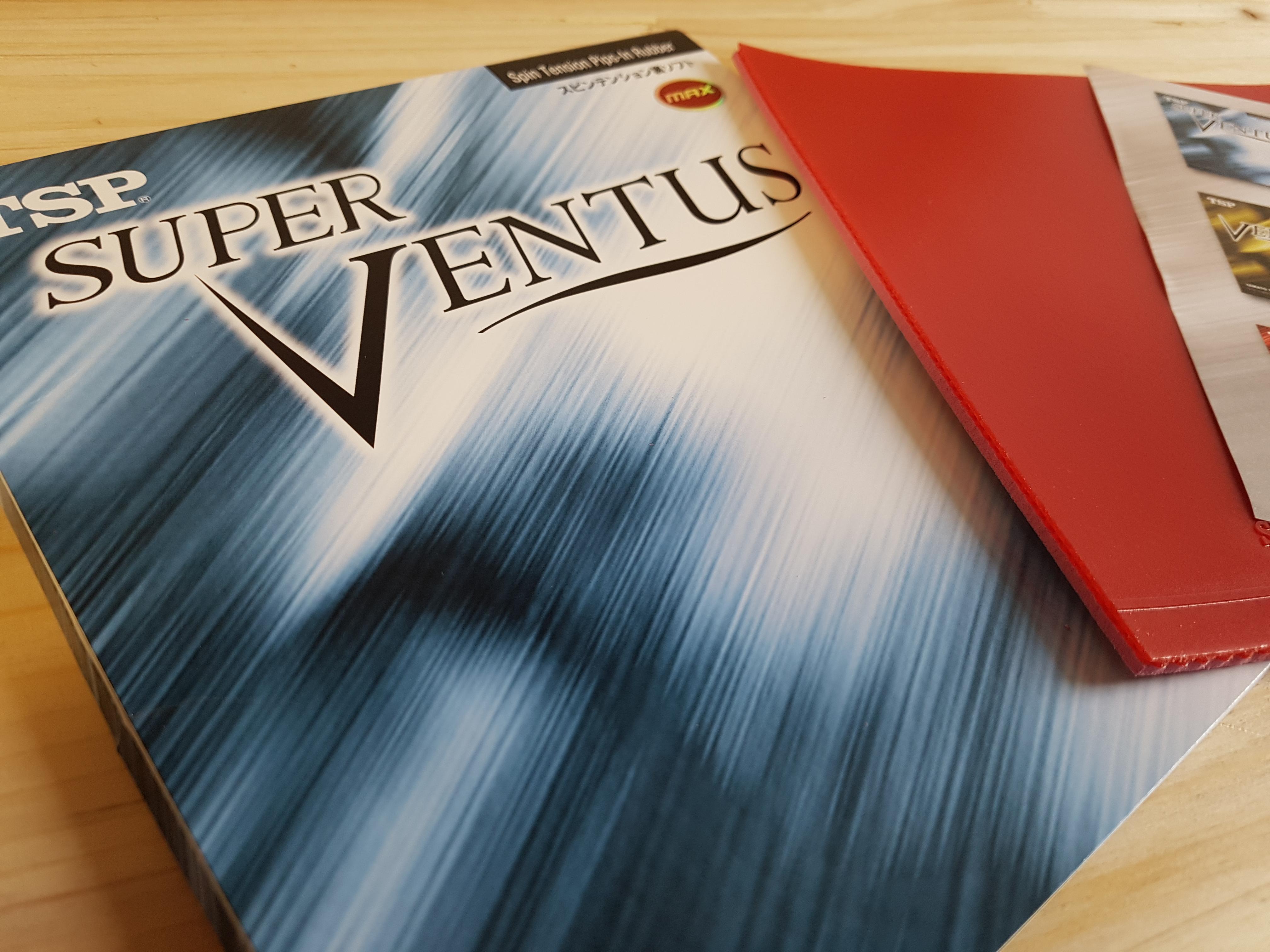TSP Super Ventus – Topspinbelag der neuesten Generation