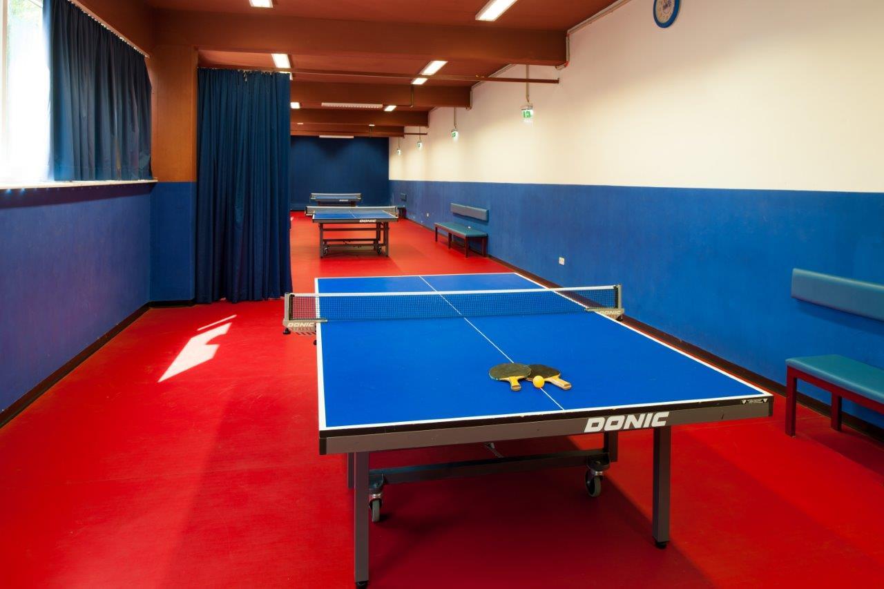 Tischtennisraum Tischtennisplatte