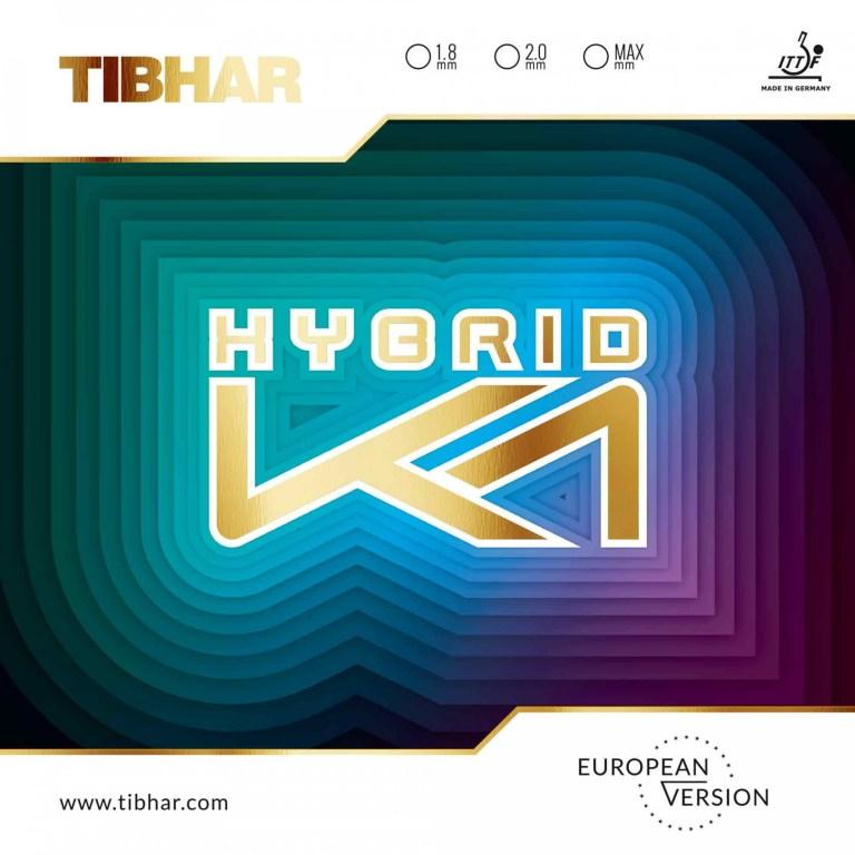 Tibhar Hybrid K1 Euro Belagcover