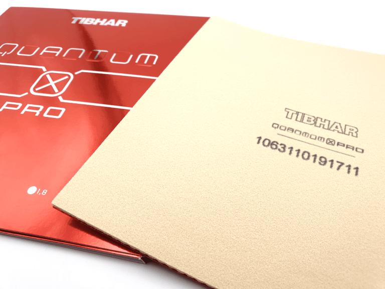 Tibhar Quantum X Pro Schwamm