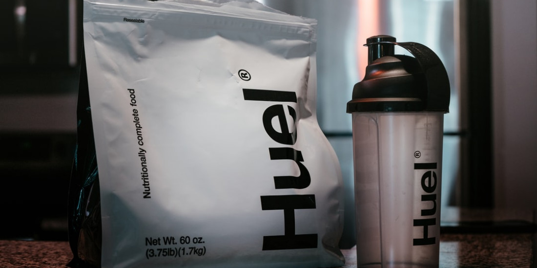Proteinpulver-Muskelaufbau