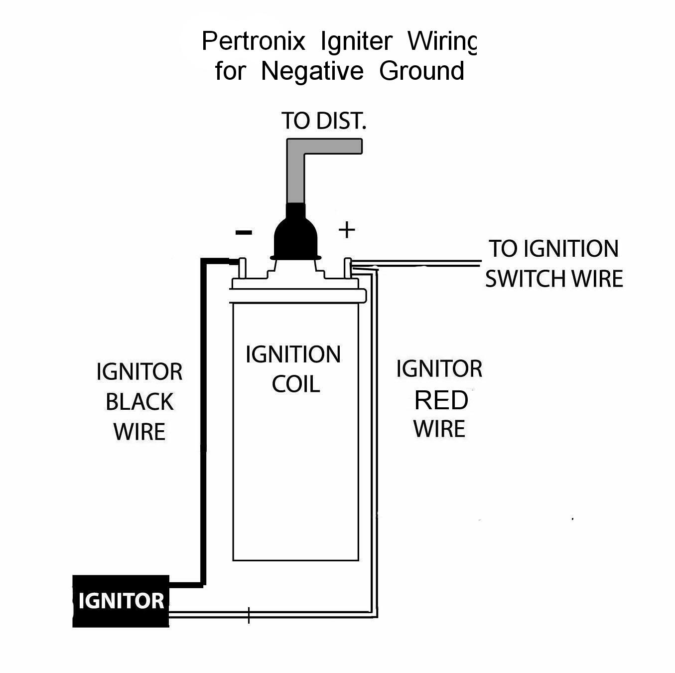 pertronix ignition wiring diagram 1998 ford f150 front end negative ground