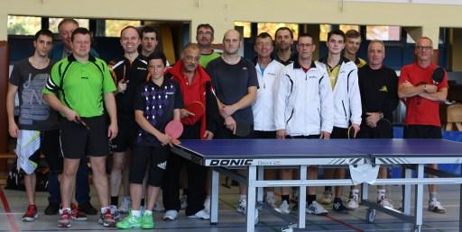 Teilnehmer Vereinsmeisterschaft 2014