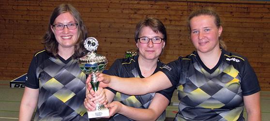U18 Bezirkspokalsieger 2019: TTC Muggensturm Mädchen