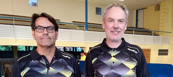 Andreas Schimmelpfennig und Frank Woelke sind die Neuzugänge des TTC Muggensturm