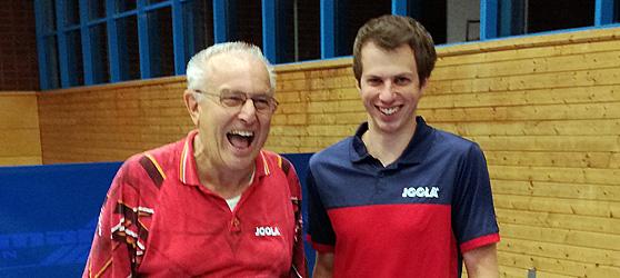 Mirco Cramer und Gerhard Mors