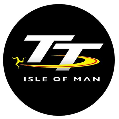 Official Isle of Man TT Logo Black Pop Socket