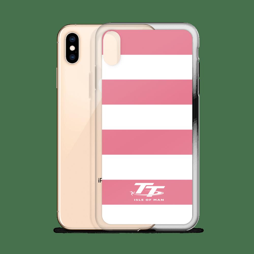 Pink Zebra Style Isle of Man TT Phone Case