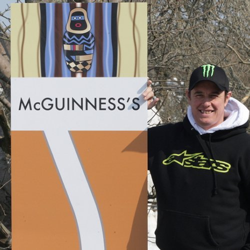 McGuinness's Road Sign - TT Phone Cases