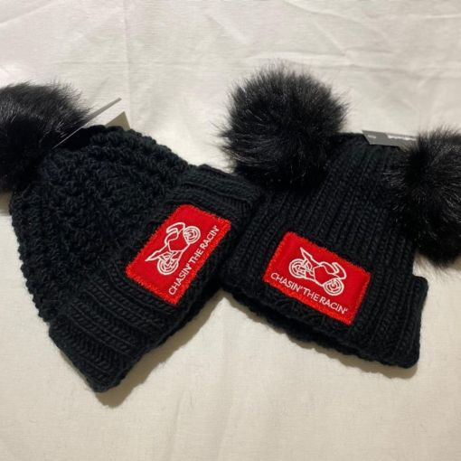 Chasin the Racin Bobble Hats